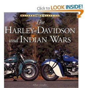 9780760318393: Harley-davidson and Indian Wars