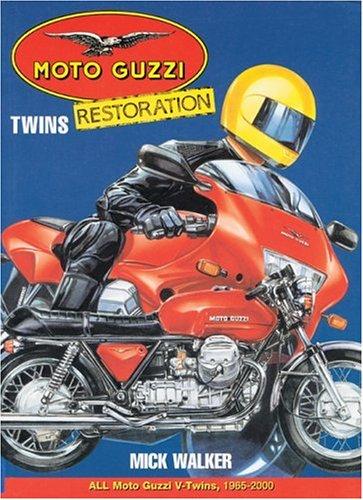 Moto Guzzi Twins Restoration (Motorbooks Workshop): Walker, Mick