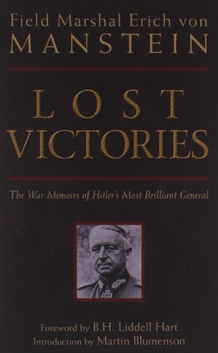 9780760320549: Lost Victories: The War Memoirs of Hitler's Most Brilliant General