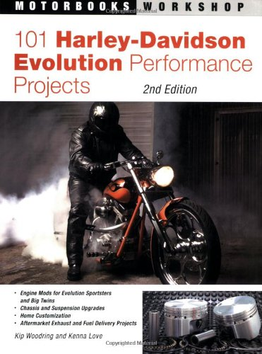 9780760320853: 101 Harley-Davidson Evolution Performance Projects (Motorbooks Workshop)