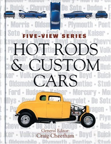 9780760323090: Hot Rods and Custom Cars (Five-View)