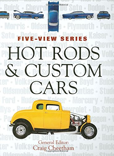 9780760325636: Hot Rods and Custom Cars (Five-view)