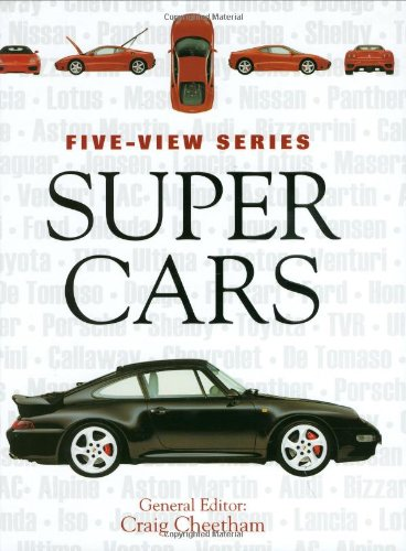 9780760325650: Supercars: The World's Most Exotic Sports Cars (Five-View)