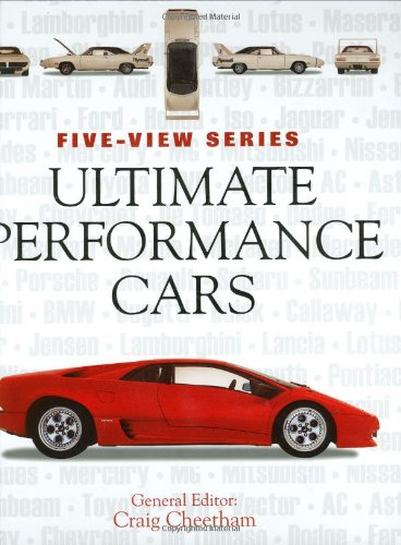 9780760325711: Ultimate Performance Cars (Five-View)