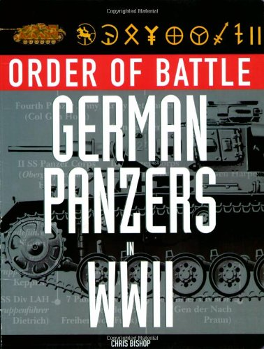 9780760331163: Order of Battle German Panzers in WWII