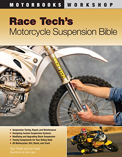 9780760331408: Race Tech's Motorcycle Suspension Bible: Dirt, Street and Track (Motorbooks Workshop)