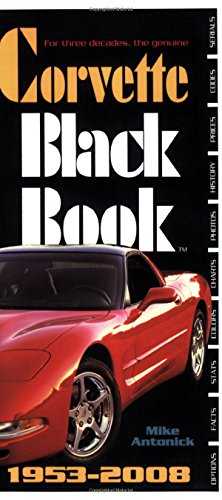 9780760331552: Corvette Black Book 1953-2008