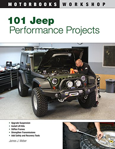 9780760331644: 101 Jeep Performance Projects (Motorbooks Workshop)