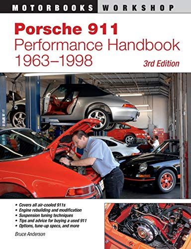 9780760331804: Porsche 911 Perfomance Handbook 1963-1998 (Motorbooks Workshop)