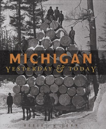 9780760333853: Michigan Yesterday & Today