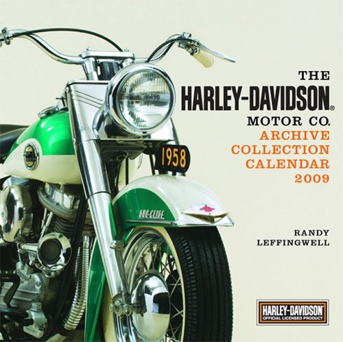 9780760334720: The Harley-Davidson Motor Co. Archive Collection 2009 Calendar