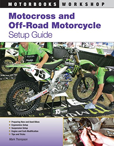 9780760335963: Motocross and Off-Road Motorcycle Setup Guide (Motorbooks Workshop)
