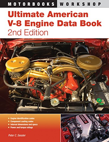 9780760336816: Ultimate American V-8 Engine Data Book: 2nd Edition (Motorbooks Workshop)