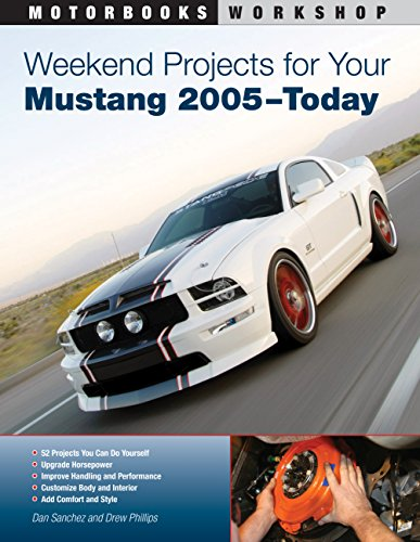 9780760336854: Weekend Projects for Your Mustang 2005-Today (Motorbooks Workshop)