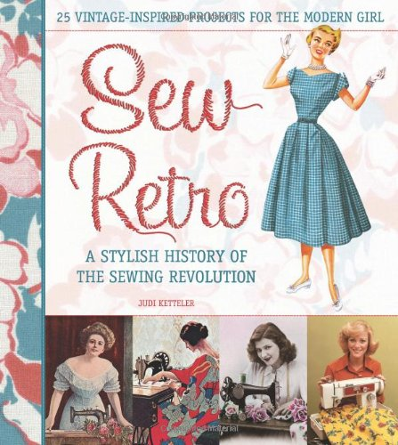 Sew Retro 9780760336878 Sewing never goes out of style, and today it is more popular than ever! Sew Retro offers twenty-five stylish, vintage-inspired sewing projects—beautiful bags, essential skirts, unique pillows, and more—that are a pleasure to sew, thanks to easy instructions, helpful diagrams, and a pocket of ten full-size patterns. This fun, inspirational book also uncovers sewing's colorful history, from the introduction of the sewing machine to the modern DIY movement, and features interviews with today's hottest fabric and pattern designers, including Amy Butler, Betz White, Barbara Brackman, Emma Brennan, Judie Rothermel, and Kathy Miller of Michael Miller Fabrics. Filled with gorgeous project photography and quirky vintage illustrations that bring the 1920s, 1940s, 1950s, and beyond to life, Sew Retro celebrates sewing yesterday and today. Learn more about Sew Retro and enjoy bonus projects and tutorials at www.sewretrothebook.com!