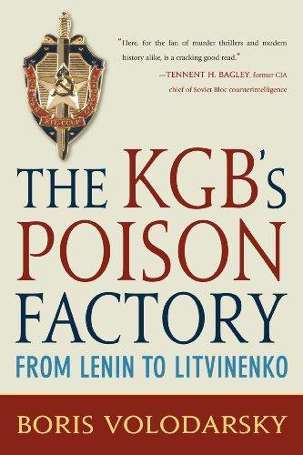 9780760337530: The KGB's Poison Factory: From Lenin to Litvinenko
