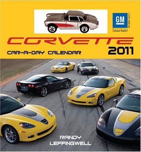 9780760338902: Corvette Car-a-Day 2011 w/toy