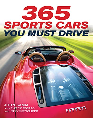 9780760340455: 365 Sports Cars You Must Drive