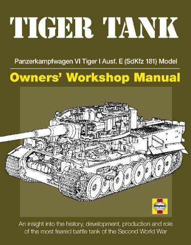 9780760340783: Tiger Tank Owners' Workshop Manual: Panzerkampfwagen VI Tiger 1 Ausf.E (SdKfz 181)