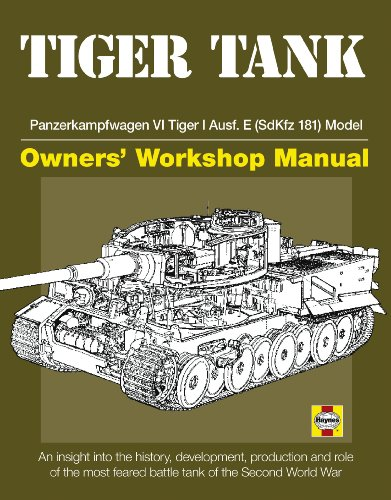 9780760340783: Tiger Tank Manual: Panzerkampfwagen VI Tiger 1 Ausf.E (SdKfz 181) Model