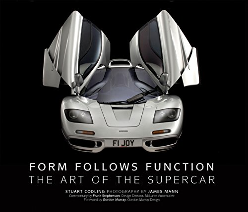 9780760341162: Form Follows Function: The Art of the Supercar