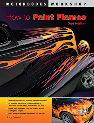 9780760341360: How to Paint Flames (Motorbooks Workshop)