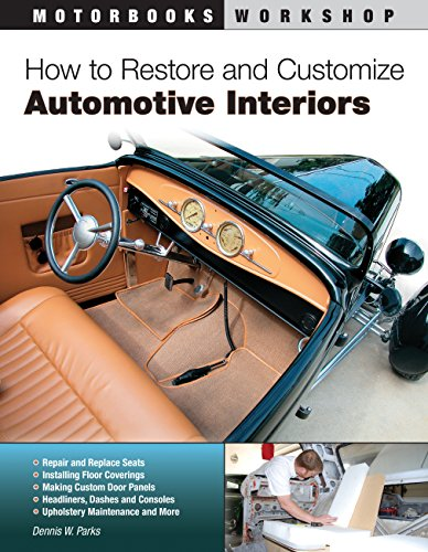 9780760342473: How to Restore and Customize Automotive Interiors (Motorbooks Workshop)