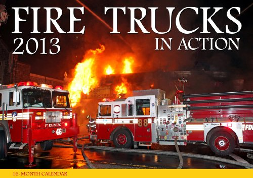 9780760342855: Fire Trucks in Action 2013
