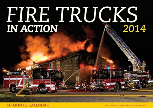 9780760344576: Fire Trucks in Action 2014