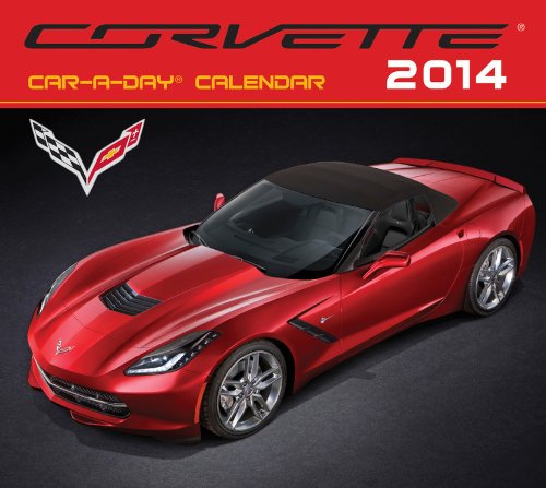 9780760344705: Corvette Car-A-Day 2014