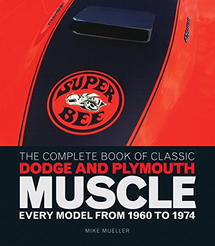 9780760344774: The Complete Book of Classic Dodge and Plymouth Muscle: Every Model from 1960 to 1974