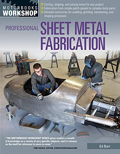 9780760344927: Professional Sheet Metal Fabrication (Motorbooks Workshop)