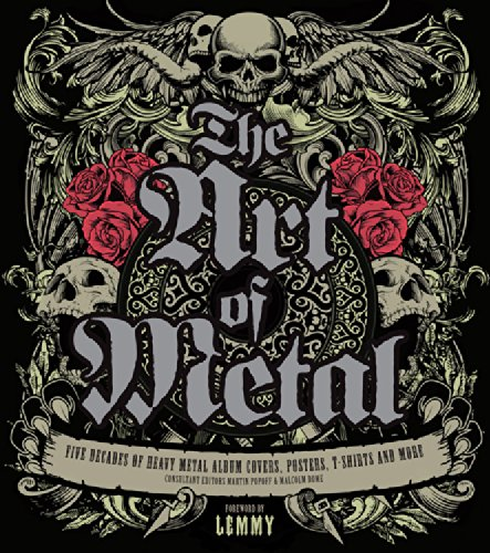 9780760344934: The Art of Metal: Five Decades of Heavy Metal Album Covers, Posters, T-Shirts, and More