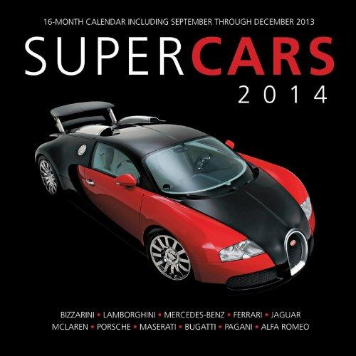 Supercars 2014: 16 Month Calendar - September 2013 through December 2014