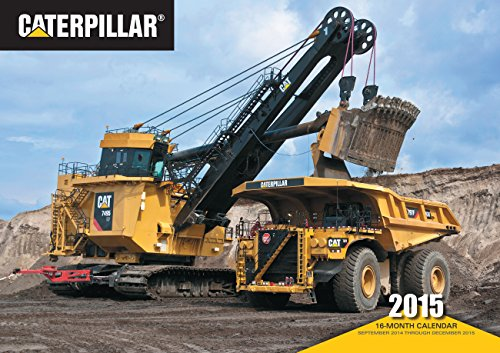 9780760346693: Caterpillar 2015: 16-Month Calendar September 2014 through December 2015