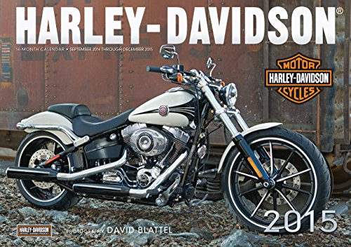 9780760346747: Harley-Davidson 2015: 16-Month Calendar September 2014 through December 2015