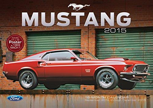 9780760346822: Ford Mustang 2015: 16-Month Calendar September 2014 through December 2015