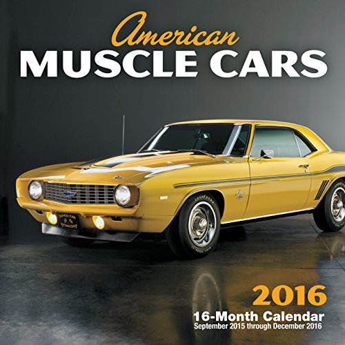 9780760348727: American Muscle Cars 2016 Mini: 16-Month Calendar September 2015 through December 2016