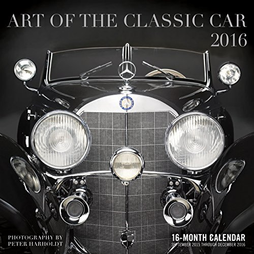 9780760348734: Art of the Classic Car 2016 Calendar