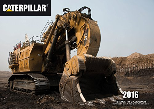9780760348765: Caterpillar 2016: 16-Month Calendar September 2015 through December 2016