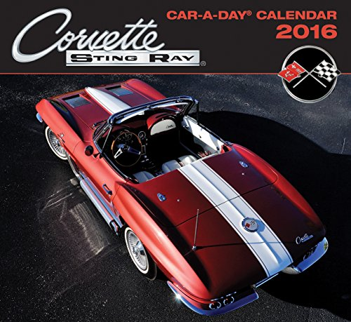 9780760348789: Corvette Car-a-Day 2016 Calendar