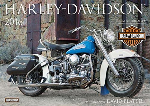 9780760348833: Harley-Davidson 2016: 16-Month Calendar September 2015 through December 2016