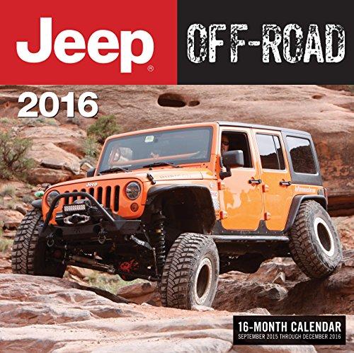 9780760348840: Jeep Off-Road 2016: 16-Month Calendar September 2015 through December 2016