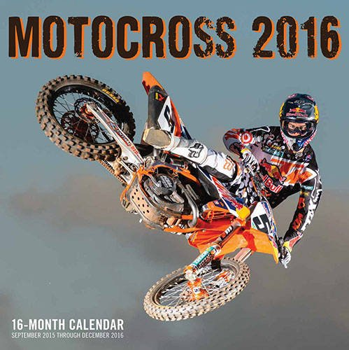 9780760348864: Motocross 2016: 16-Month Calendar September 2015 through December 2016