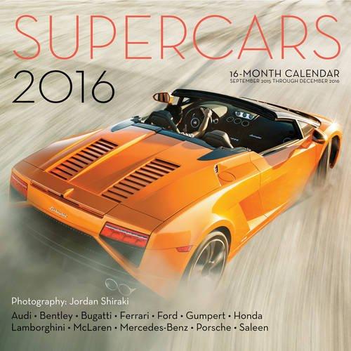 9780760348871: Supercars 2016: 16-Month Calendar September 2015 through December 2016
