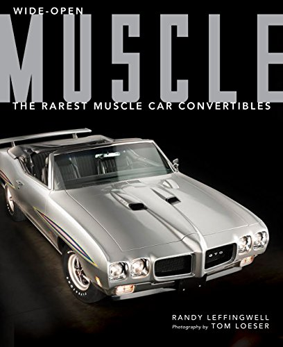 Wide-Open Muscle: The Rarest Muscle Car Convertibles (Hardcover): Randy Leffingwell
