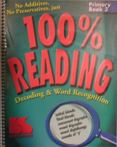 9780760602478: 100% Reading, Decoding & Word Recognition: Primary Book 3