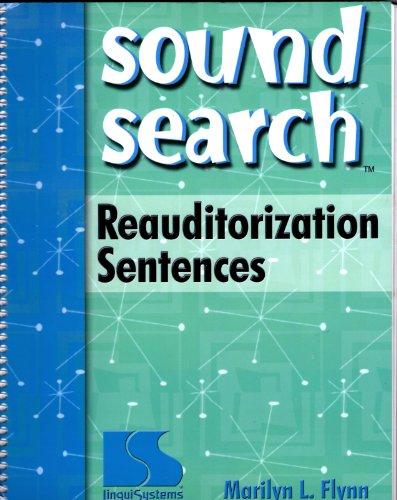 Sound Search Reauditorization Sentences