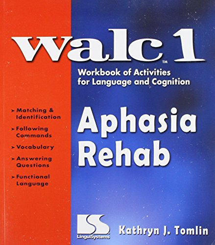 9780760604243: WALC 1 Aphasia Rehab: Workbook of Activities for Language and Cognition
