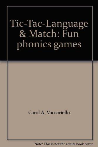 9780760604526: Tic-Tac-Language & Match: Fun phonics games